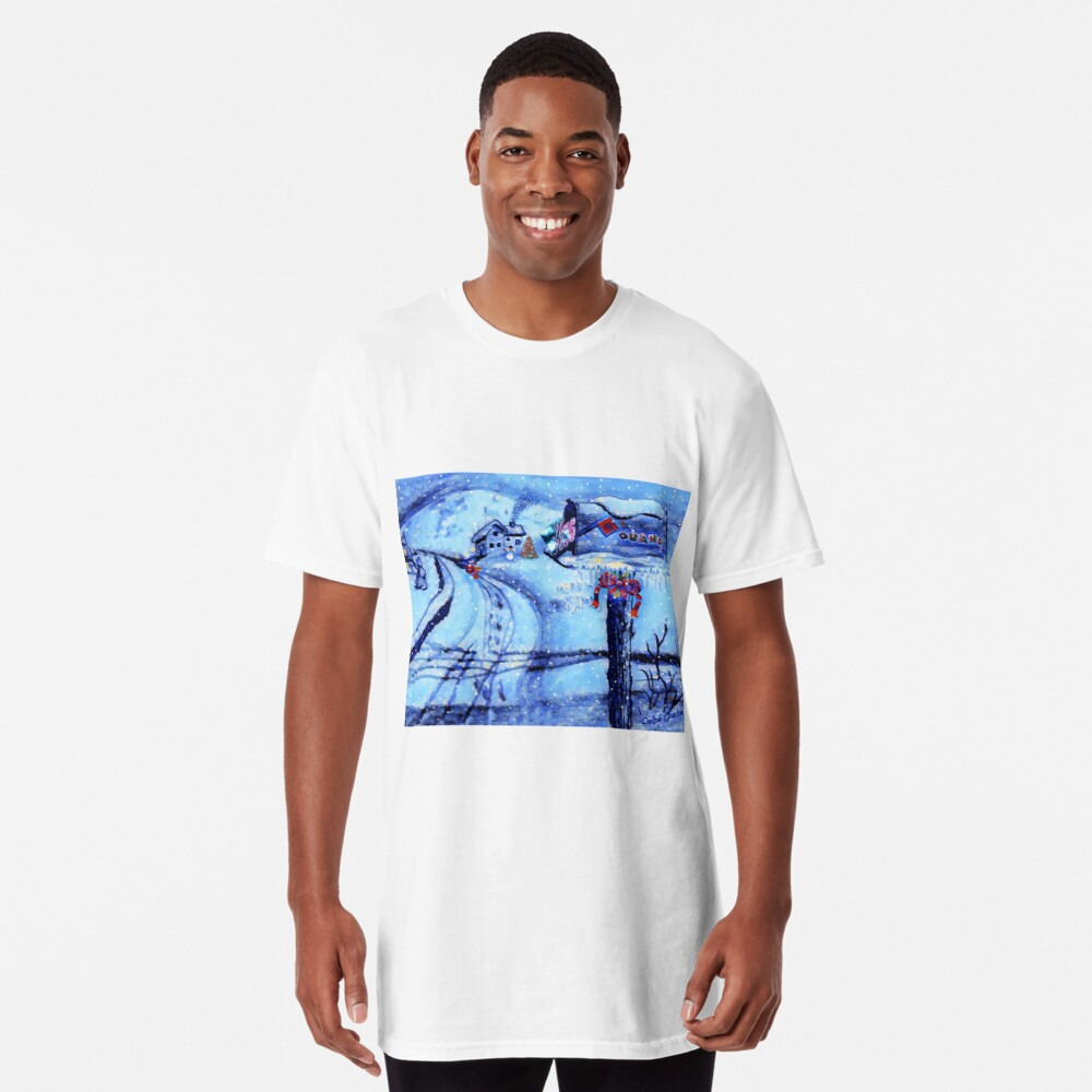 HOME FOR THE HOLIDAYS Long T-Shirt