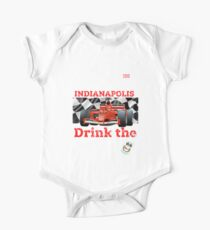 Indianapolis 500 Mile 2019 Drink The Milk T-Shirt Baby Body Kurzarm