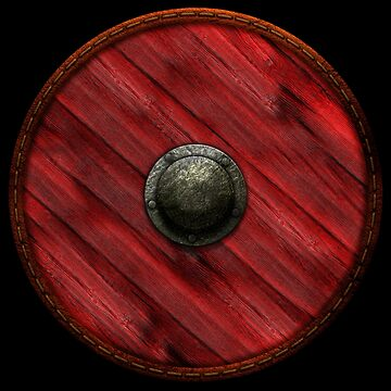 Shield - Red by kayakcapers