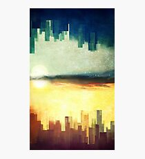 Parallel cities Photographic Print