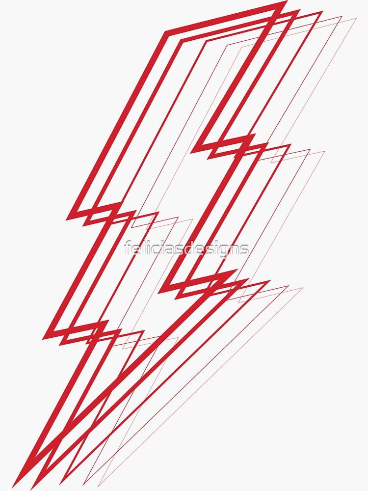 Red Lightning by feliciasdesigns