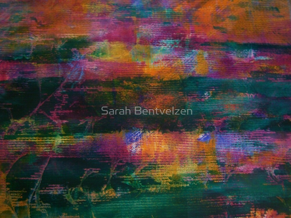 Colour Attack by Sarah Bentvelzen