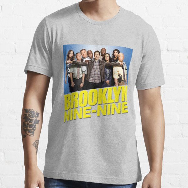 Brooklyn Nine Nine 99 - Cast and Logo Essential T-Shirt