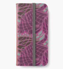 Blue and Purple Abstract iPhone Wallet/Case/Skin