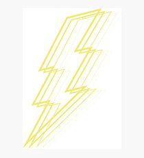 Lámina fotográfica Rayo amarillo