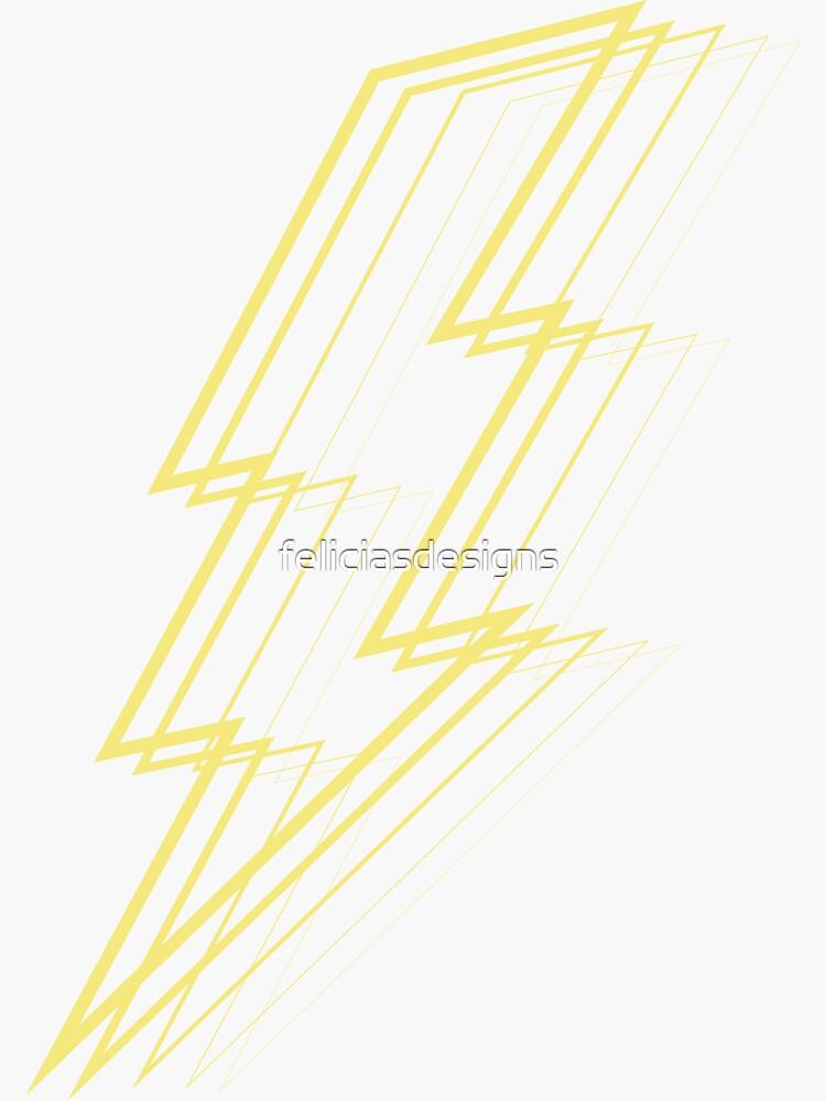 Yellow Lightning by feliciasdesigns