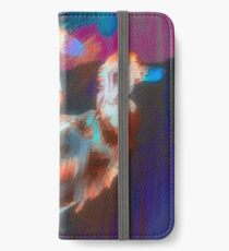 Abstract Duck iPhone Wallet/Case/Skin
