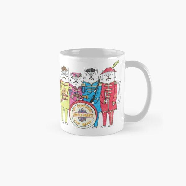 SGT Peppurr's Lonely Hearts Cats Band Classic Mug