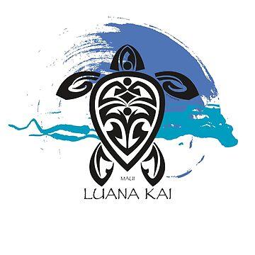 Tribal Turtle / Luana Kai Maui by srwdesign