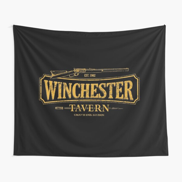 Shaun Of The Dead - Winchester Tavern HD Tapestry