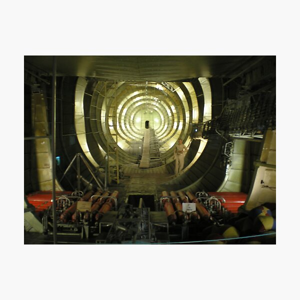 Inside the Spruce Goose Photographic Print