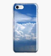 Stormy sky with clouds iPhone Case/Skin