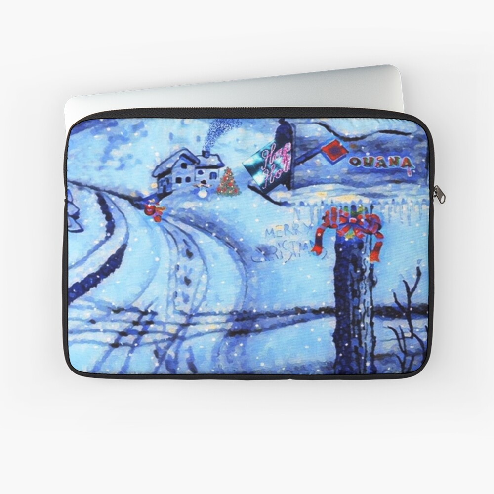 HOME FOR THE HOLIDAYS Laptop Sleeve
