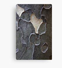 Gray Abstract Canvas Print