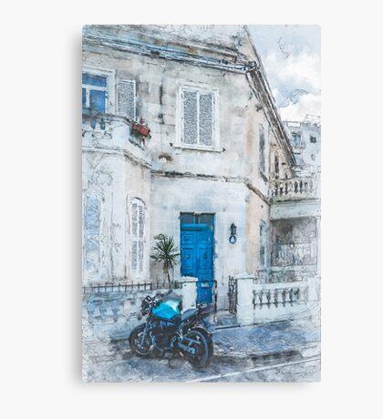 Malta St. Julians #malta #city Canvas Print