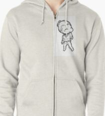 little luthor Zipped Hoodie