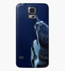 Blue Penguin Case/Skin for Samsung Galaxy