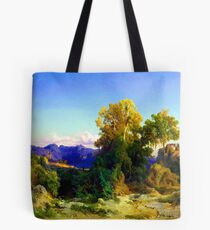 Arnold Bocklin Landscape in the Roman Campagna Tote Bag