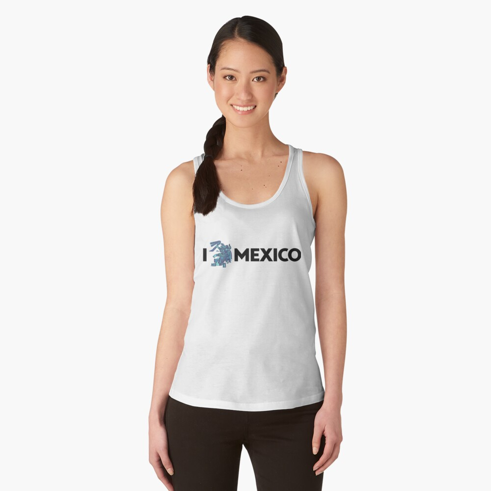 I Love Mexico - Tlaloc Women's Tank Top Front