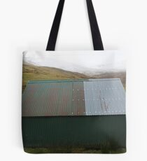 Bothy Abstract, Glen Lyon. Tote Bag