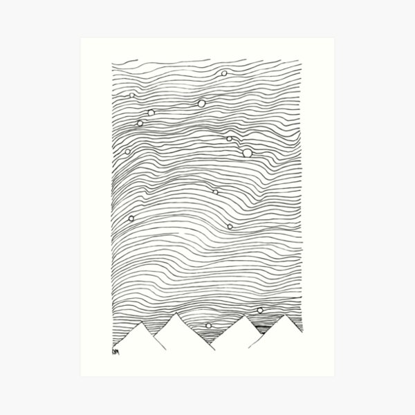 2018 11 17 sketchbook Art Print