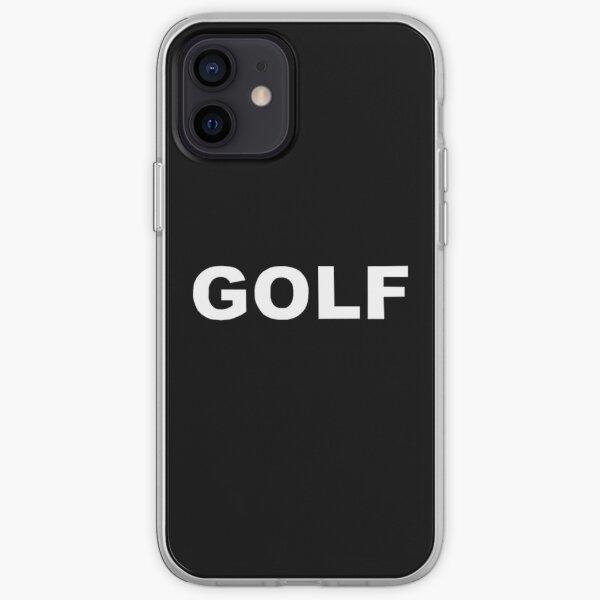 GOLF WANG Tyler the Creator Golfwang Logo (White) iPhone Soft Case