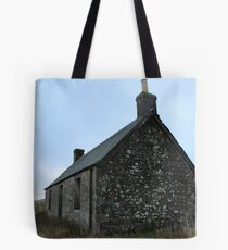 Cottage, Loch Meallbrodden. Tote Bag
