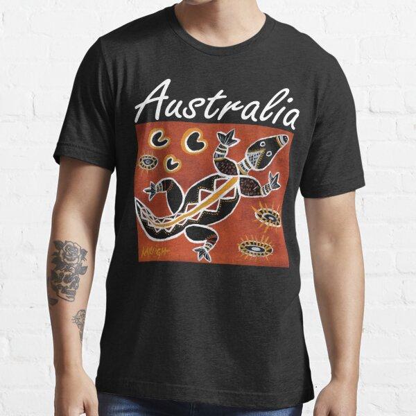 Tribal Crocodile Australia Essential T-Shirt