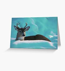 Blueberry Fields Forever Greeting Card