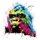 Rainbow Gorilla by Apatche Revealed