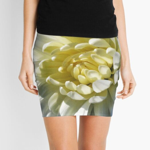 Chrysanthemum In Sunlight Mini Skirt