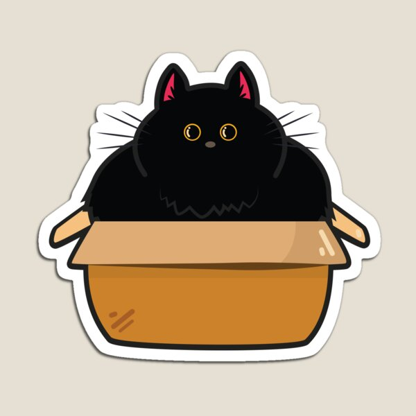 Cats and Boxes Magnet