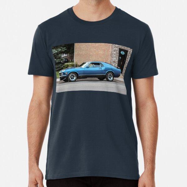 Ford Mustang Mach 1 Mach1 Model DigiRods Koolart Cartoon Car T Shirt