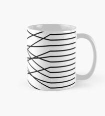 Line Complex Light Square Classic Mug