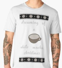 White Mocha Christmas Men's Premium T-Shirt