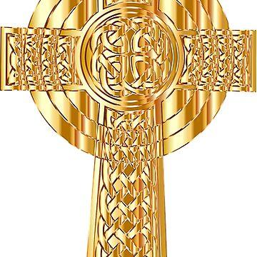 Celtic gold cross,christian,faith,spiritual,spirit,Jesus,christ,love by love999