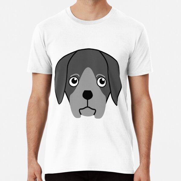 Mono Labrador Puppy Premium T-Shirt