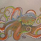 Octopus Two by AngelaDeRiso