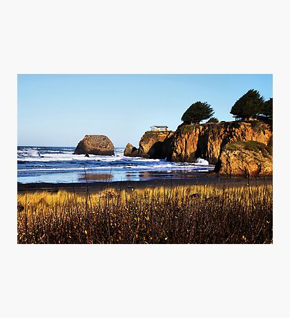 Ocean Front Property Photographic Print
