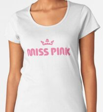 Miss Pink Merchandise Women's Premium T-Shirt