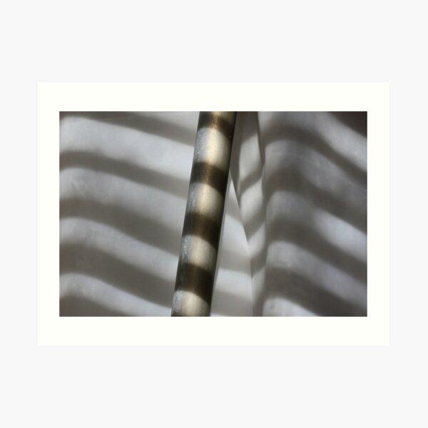Pipe & Stripes Art Print
