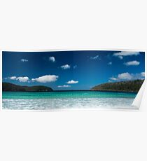 Pristine Waters - Fortescue Bay, Tasmania Poster