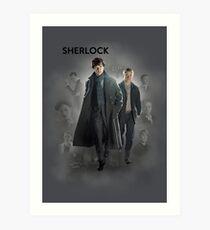 BBC Sherlock Art Print