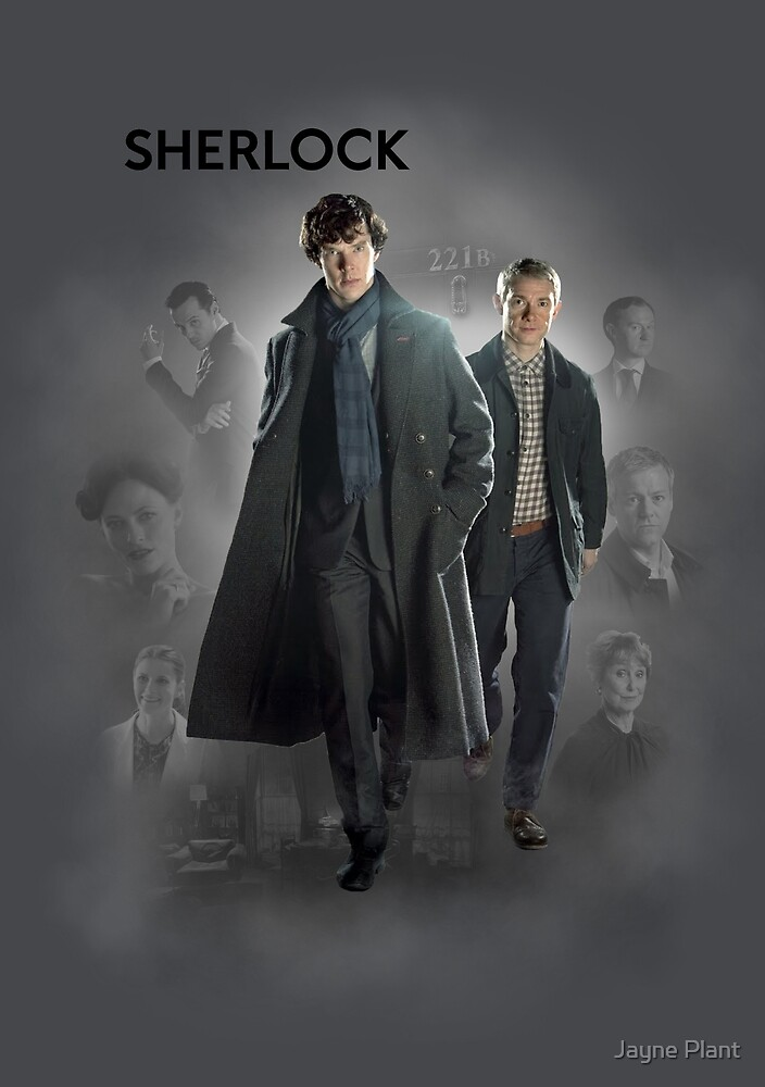 BBC Sherlock by Jayne Plant