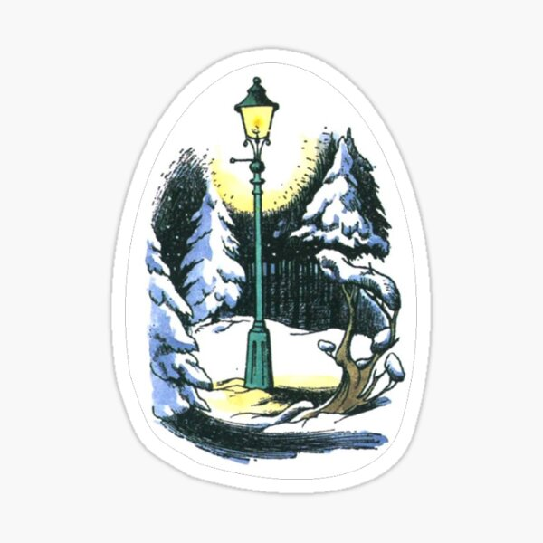 The Lamppost - The Lion, the Witch, and the Wardrobe Sticker