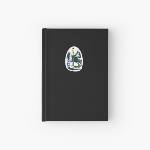 The Lamppost - The Lion, the Witch, and the Wardrobe Hardcover Journal