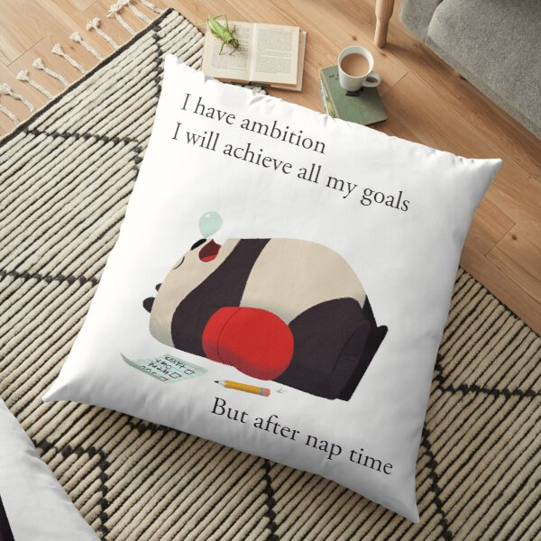 Ambition Panda Floor Pillow
