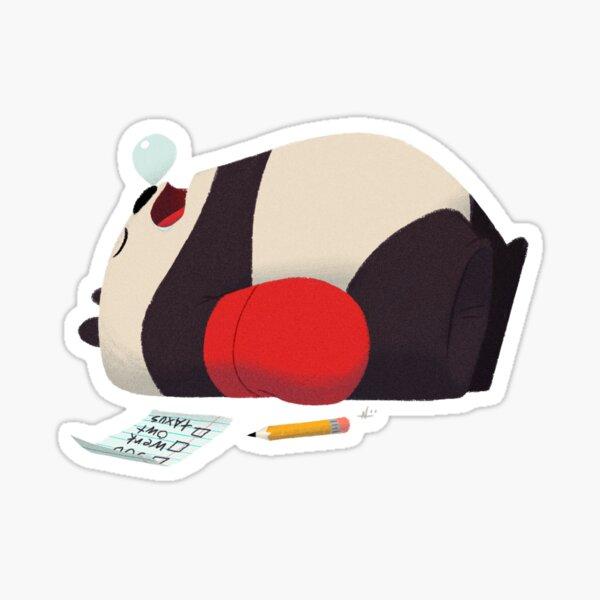 Ambition Panda Sticker