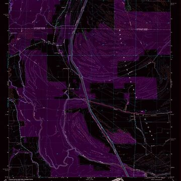 USGS TOPO Map Louisiana LA Bayou Jack 331387 1969 24000 Inverted by wetdryvac