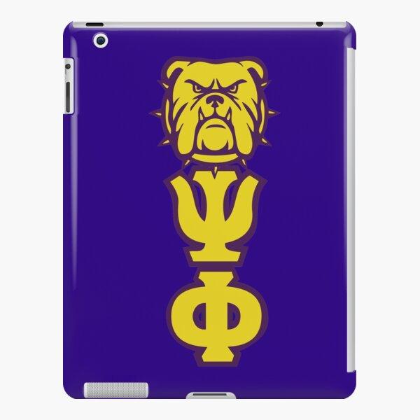 Que Dog Omega Purple Gold Atomic Psi Phi iPad Snap Case